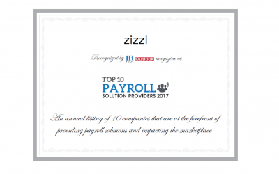 Combining Payroll and Benefits Lands zizzl on Top 10 List